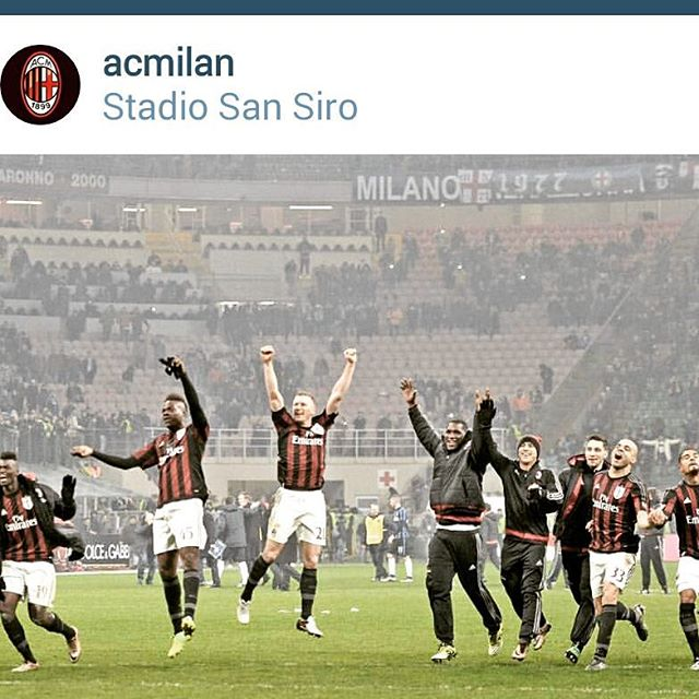 0018 MATCH OF THE DAY-Milan Derby -AC MILAN 3 INTER MILAN 0. Your Thoughts on the game.Pic from @acmilan