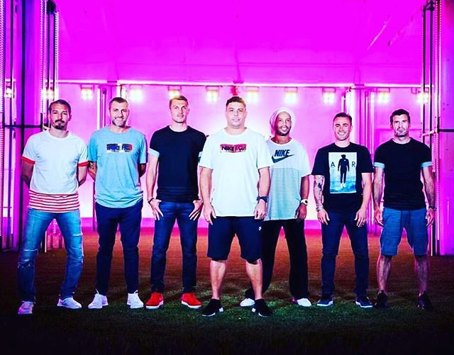 Nike LEGENDS in Milan over the weekend. Watta Thing