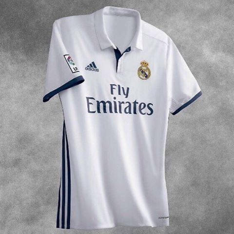 Real Madrid home jersey launched. Your thoughts ?