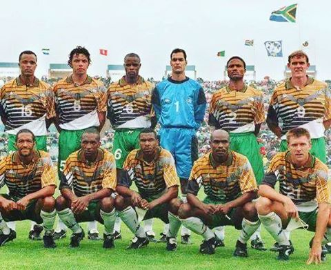 Bafana Bafana. South Africa in Afcon 96. What a team. What's your memory of Afcon 96 and this team