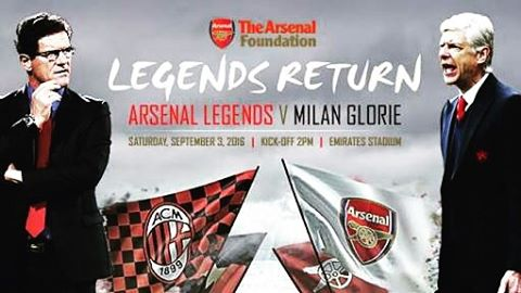 Really enjoying the Arsenal Legends vs Milan Legends on SS3. Great to see all the legends like Vieri, Boban, Costacuta, Petit , overmars, Marco Simone and the Likes