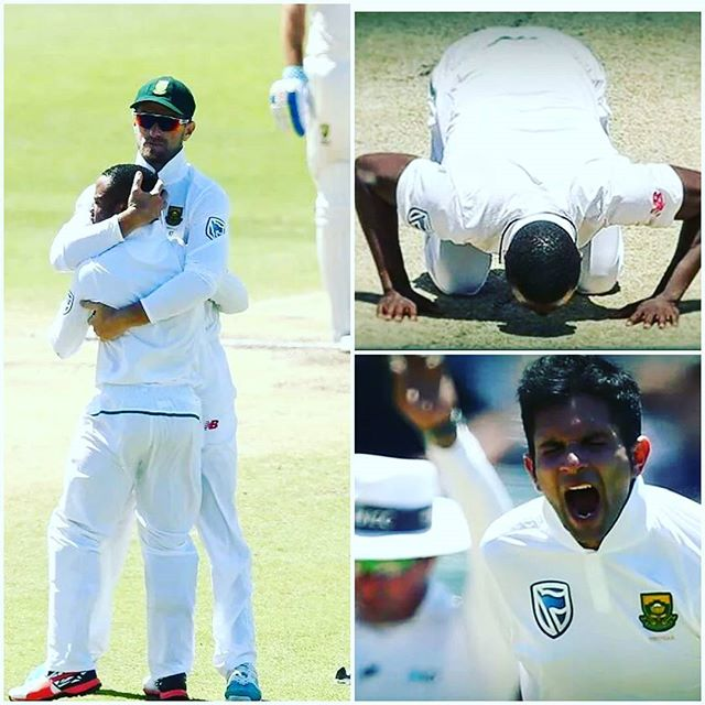 Proteas win the First TEST in Perth. Watching the celebrations at the gym.Watta thing. What are your thoughts on the victory and key moments. What bout that Bevuma Run Out