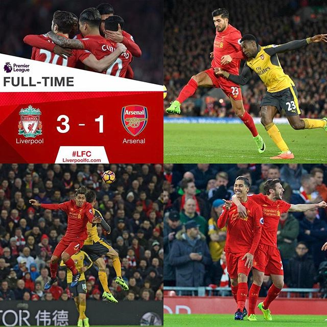Liverpool 3 Arsenal 1. Easy Game . Next week we got a Tuff one against Burnley
