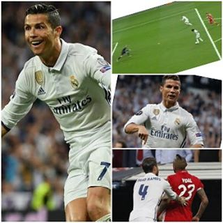 CR7 hatrick, The Vidal Red Card. Was CR7 offside, Did Madrid deserve it? Kuffor looks shattered. Your Thoughts?