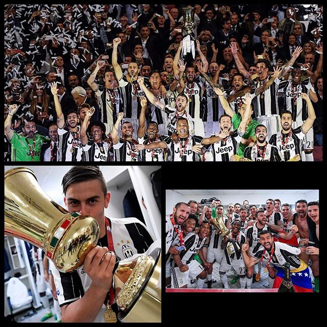 2017 Coppa Italia Champions. Juventus 2 Lazio 1. Goals by Danny Alvez and Bonucci secure another Coppa Italia. Alvez. More on www.swoosh0018.com