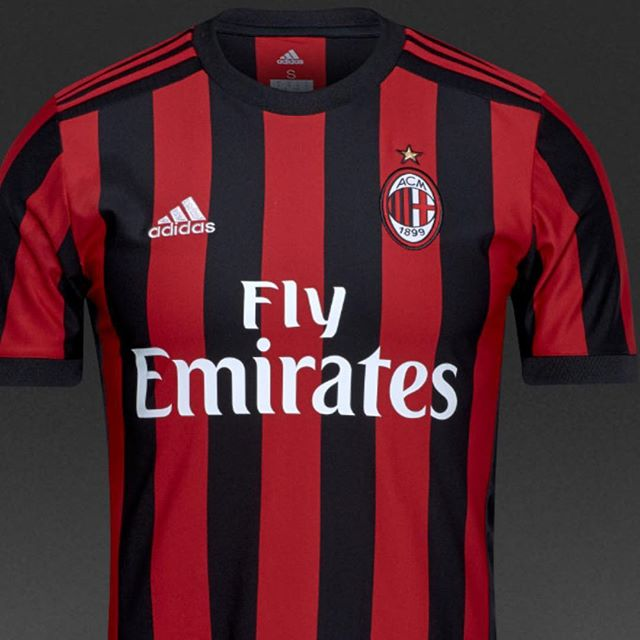 AC Milan Home Jersey 2017/18.  Your thoughts?