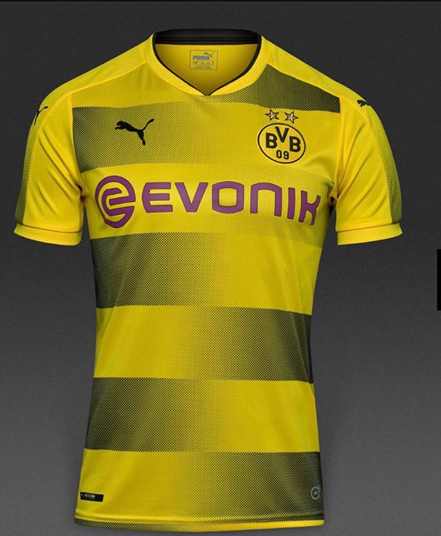 Dortmund Home jersey 17/18.Your thoughts?