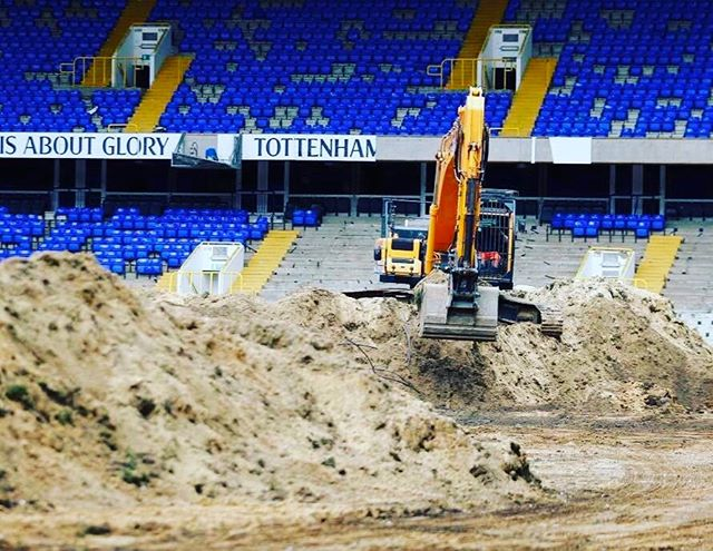 Goodbye to White Hart Lane. Sad day.