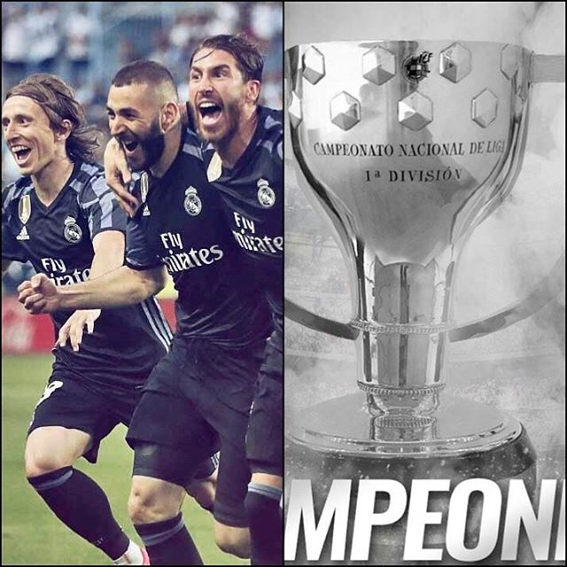Real Madrid are La Liga Champions