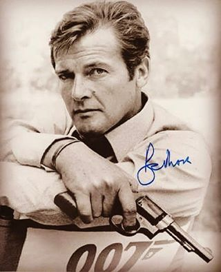 RIP Roger Moore. My favorite James Bond. Did he ever get to put down Monnypenny. That we'll never know. Which Roger Moore 007 was your favourite