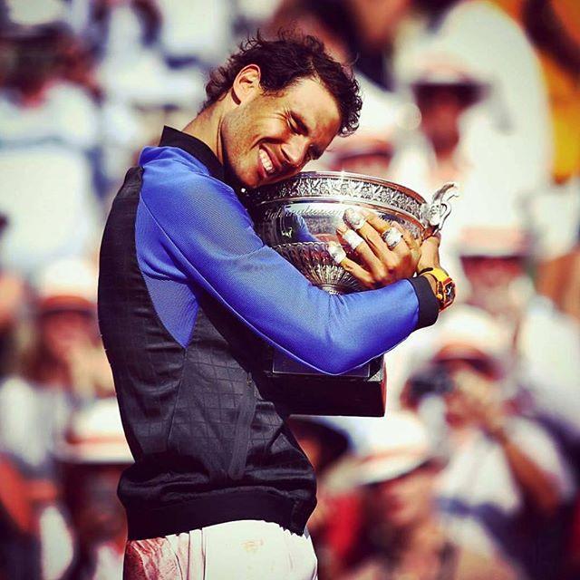 Rafael Nadal. Tenth French Open. King of Clay. Vamos Rafa