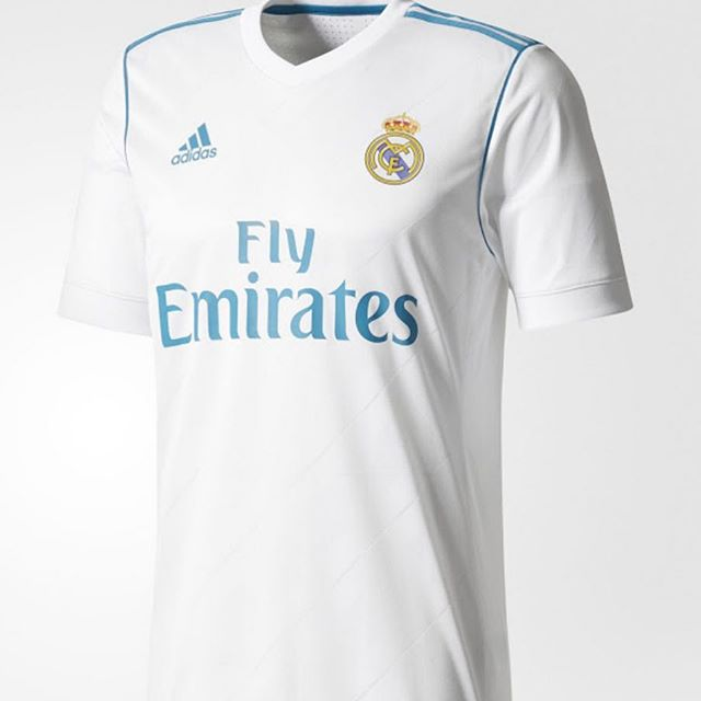 Real Madrid 2017/18 Home Jersey. Your Thoughts