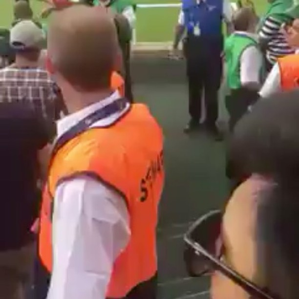 "So the rivalry is fierce between India and Pakistan. Sledging is huge in Cricket. How far do you go. Some are of belief ""If you give, you must collect"". What's your views on this incident. Video source: recieved via whatsapp Pakistan vs India . Paki Fans celebrate around the world as Pakistan thump India to become ICC Champions trophy winners."