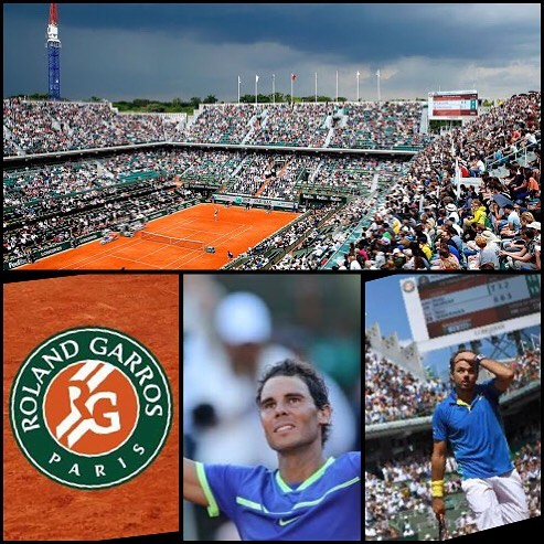Vamos Rafa. Nadal vs Wawrinka in the French Open Final. Can Nadal make it ten French Open Titles. Love the French Open. One of my favourite Grand Slams
