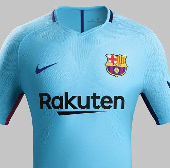 Barcelona Away Jersey 2017/18. Your Thoughts?