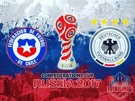 Chile vs Germany. 2017 Confederations Cup Final. Predict score and Win a Mini Adidas Confeds Cup Ball. Comon @moe_bana You got this? ????