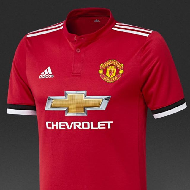 Manchester United Home Jersey 2017/18. Your Thoughts?