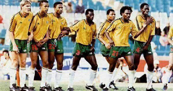 Once Upon a Time at Bafana Bafana