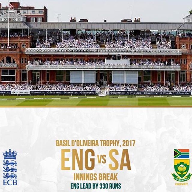 Watching the 4th Day of the First Test. England vs SA. Can we chase the target of 330 down. Test has been entertaining. Your views on the Test