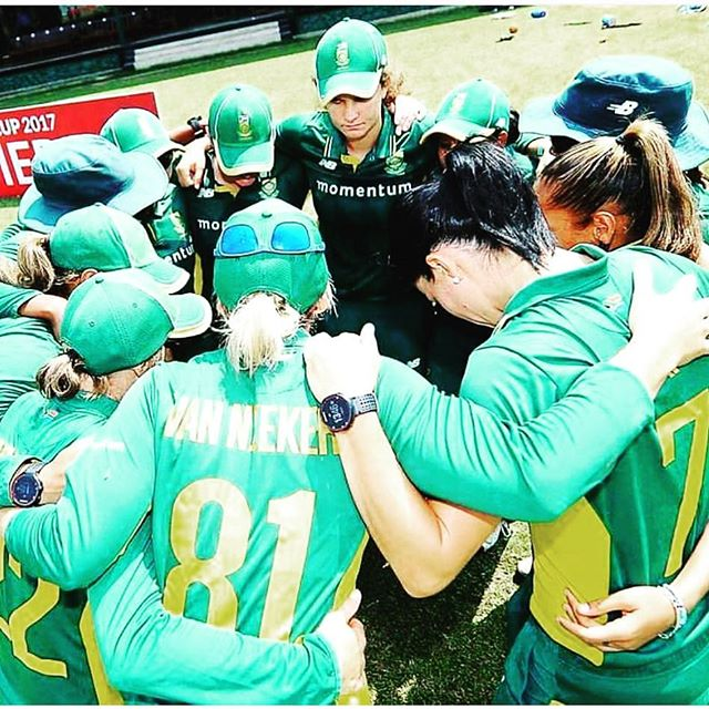 Well done to the Proteas Women. Tough loss against the hosts and Better Luck next time. Better showing than the Men at an ICC event