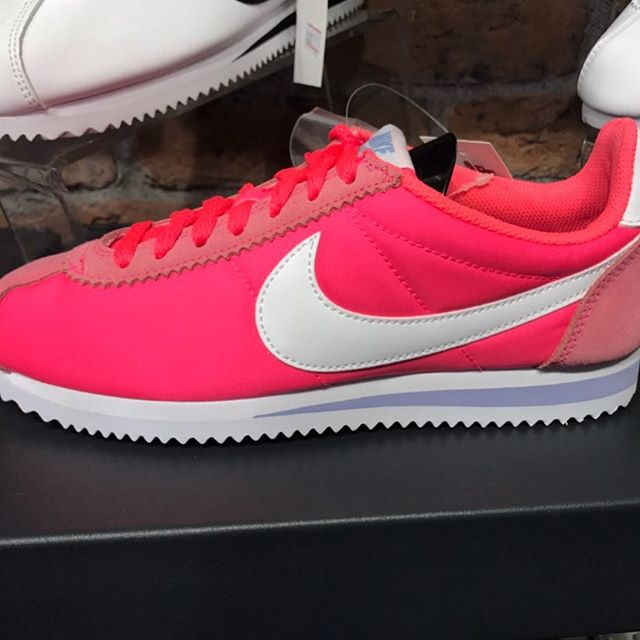 Nike Cortez seen this in Istanbul.Makes our Sneaker of the Day