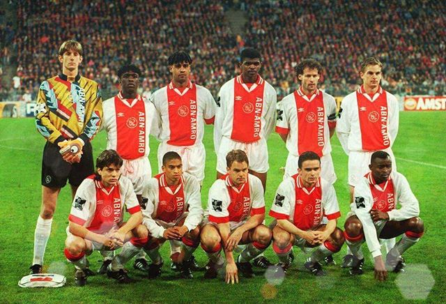 Ajax Amsterdam makes our Wednesday Warriors. What a team. Can you name this team?