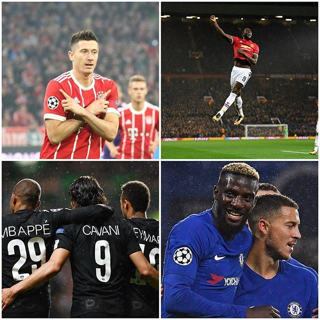 Good Night in Europe for the Big Guns. MANCS,Chelsea,Bayern and PSG all score top victories. Your thoughts on the Matchday?