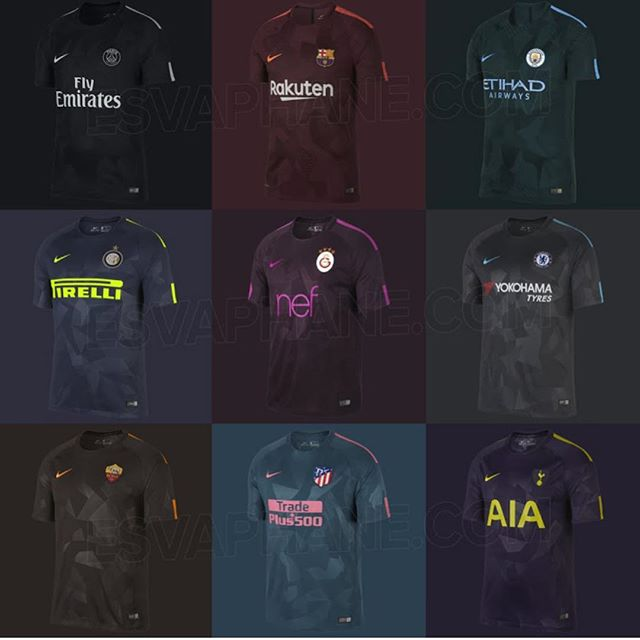 Nike releases their third kits.Your Thoughts
