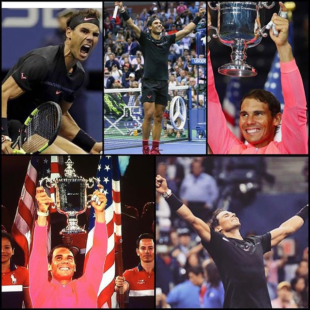 Rafael Nadal wins the US Open and his 16 SLAM. Vamos Rafa and well done to @kandersonatp. Making us South Africans Proud