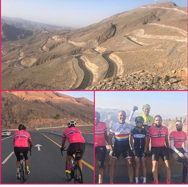 Cycle and Climb up Jebel jais mountain.The highest mountain in UAE by @shahidosmany Scroll for pics