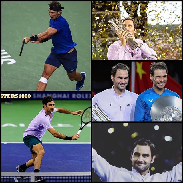 Federer beats Nadal in the Shanghai Masters. Enjoyed watching this tournament