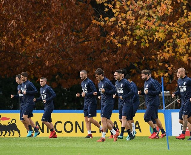 Calm before the Storm. Italy train in Coverciano. Musseeve game agianst Sweden tomorow in Sweden. We must get to Russia 2018