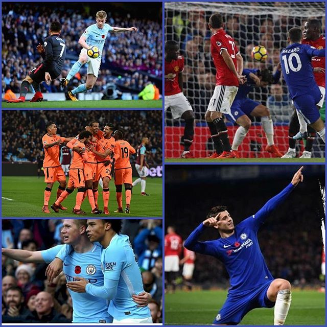 Conte beats Jose with Morata header. What's your thoughts on the game? Citeh beat Arsenal 3-1. Was a good win for Liverpool and Spurs win 1-0.So overall I'd say a Fantastic Footie weekend .