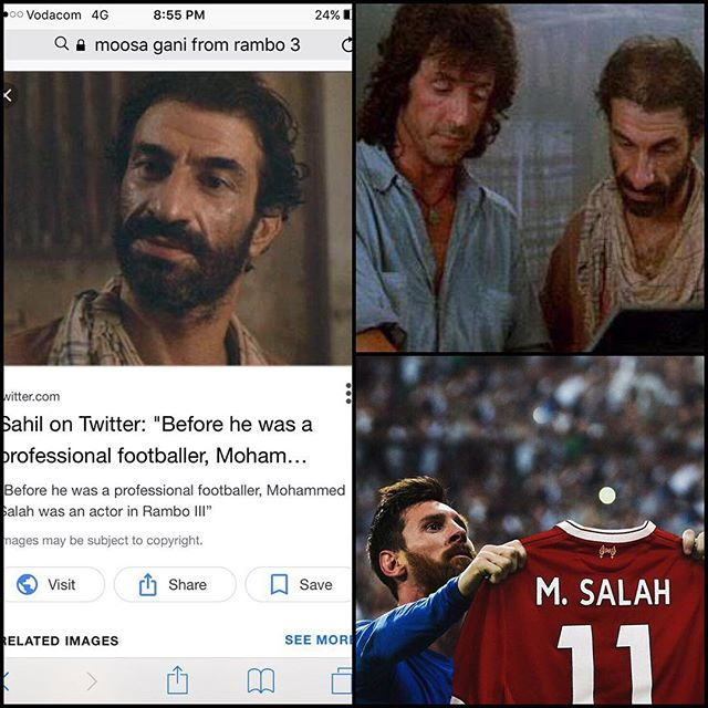 Just how important has Mohamed Salah been for Liverpool? Wat say Lads from the Kop. Did you know he was Moosa Gani the Afghan Rebel in Rambo 3 before Football!