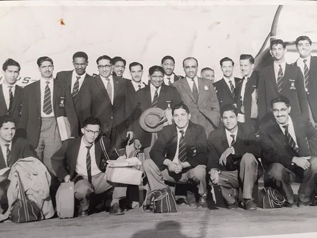 SA NON WHITE TEAM TOURING PARTY TO KENYA 1958-Captained by Legendary Basil De Oliveira