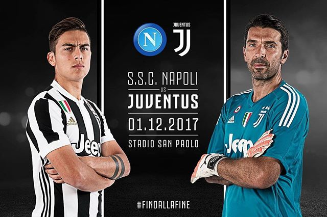 Big game Tonight. Forza Juve. Gotta put in a Top effort tonight in Naples