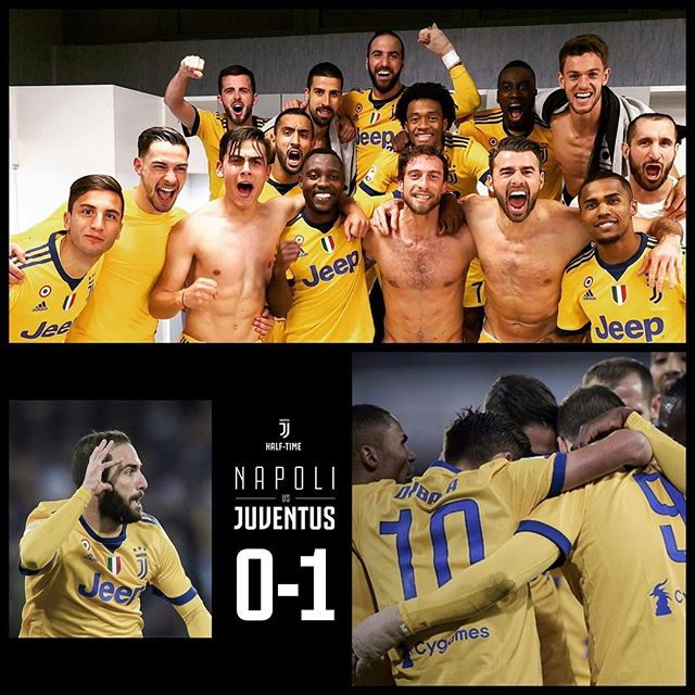 Napoli 0 Juventus 1. Forza Juve. An important victory