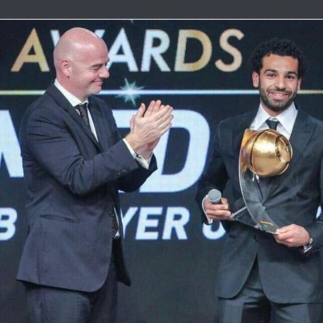 CAF player of the year. Watta Thing.
