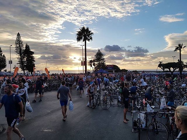 Race Morning at the Iron Man 70.3 in East London by @natalieagostinho makes our Instagram pic of the day @imsouthafrica