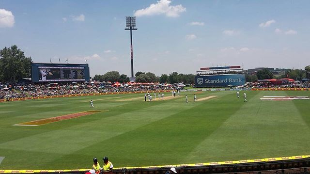 Supersport Park. Day 1 of the 2nd Test between SA and India. Are you watching