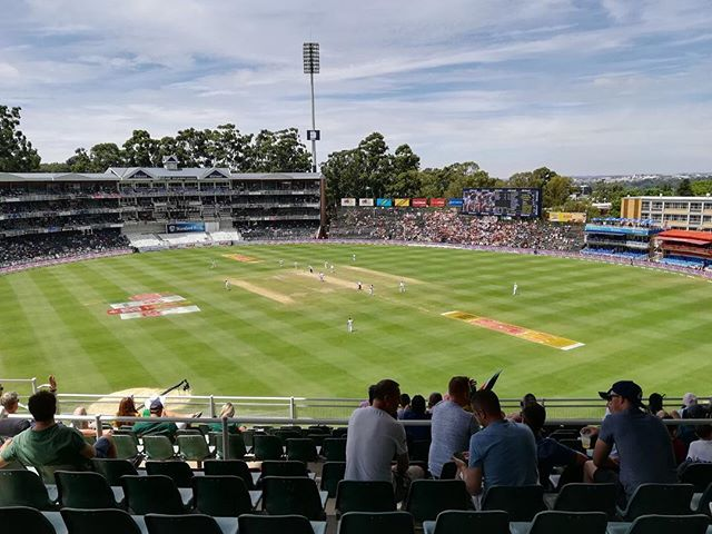 The Bullring. 3rd Test.Day 4. South Africa vs India