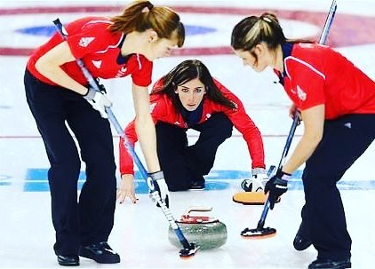 Few of these Curling Birds are not bad man. Lots of passion in this sport. Eve Muirhead, good effort against the Swedes