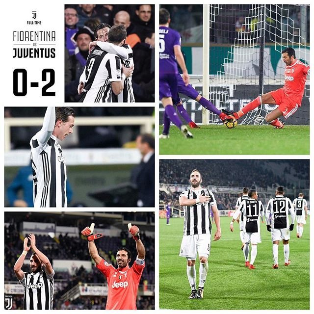 Great win yesterday in Florence with goals from Bernadeschci and Higuain. Now it's Spurs in the Champions League in midweek. Forza Juve for Patso