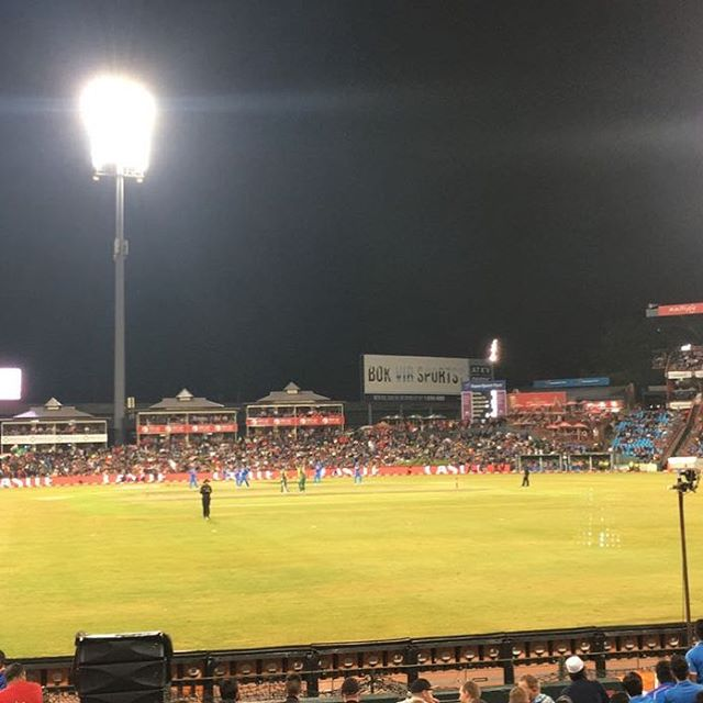 Were you at Centurion. Great win for the Proteas? It's off to Cape Town now for the final T20