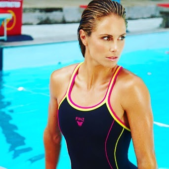 After the sledging today between Warner and De Kock, out WAG of the Week is Candice Warner. Candice is also an iron women. Watta Thing. I wonder what QDK said #wagoftheweek.