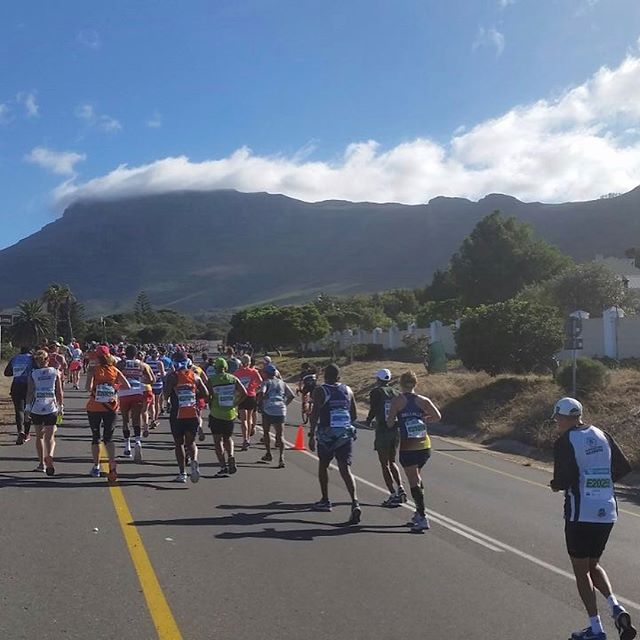 All the action from the Two Oceans Marathon in Cape Town. More pics on the Blog. Pic credits: Happy Feet @jozixtraining @bhoolamoe