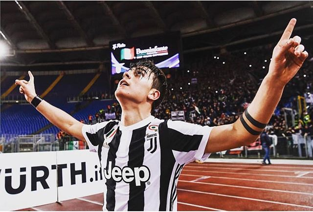 Musseeeeve Dybala goal in the 90th minute against Lazio. Big 3 points. Even better Roma thumped Napoli 4-1. We a point behind with a game in hand. Forza Juve