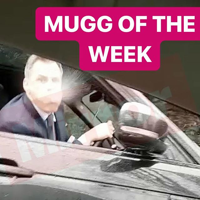 Why Jamie Why. For spitting on a 14 year girl Jamie Charagher is our MUGG of the Week. Do you Agree