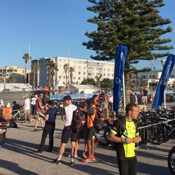 IRONMAN 2018 Transition Area