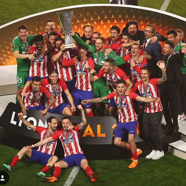 Athletico Madrid are Europa League Champions as they defeat Marseille 3-0. Two great finishes from Griezmann